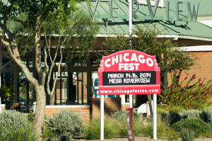 Chicago Fest will be going on the weekend of March 14-16 at Mesa Riverview Shopping District just east of Cubs Park.